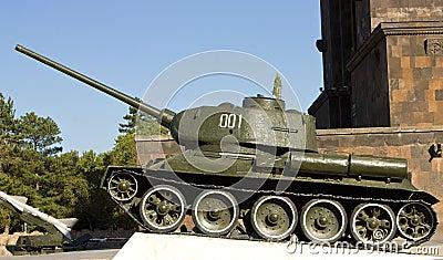 Old soviet tank.