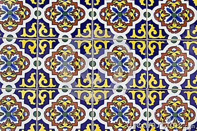 Spanish ceramic tiles royalty free stock photography image 30952657