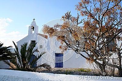 Old Spanish church.