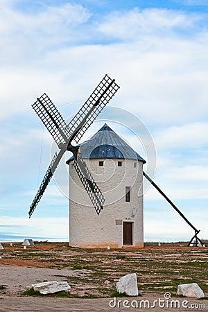 Free Old Spanish Windmill Royalty Free Stock Photo - 25774045
