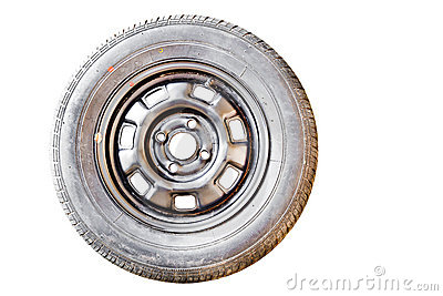 Old Spare wheel