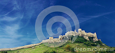 Old Spiss Castle in Slovakia