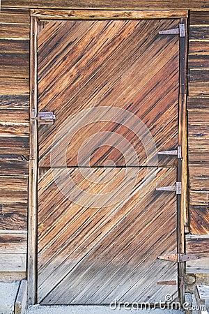 Old Split Barn Door Window Wooden