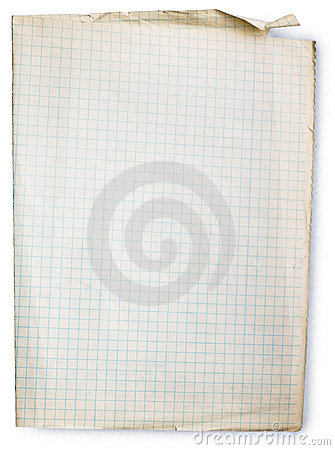 Free Old Square Lined Paper Royalty Free Stock Images - 6438289