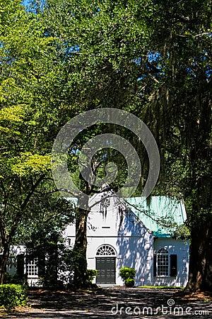 Free Old St. Andrew S Parish Church, Charleston, SC. Stock Image - 76850291