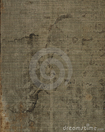 Old stained linen cloth texture