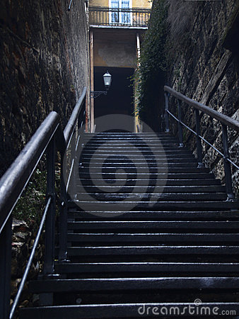 Free Old Stairs Stock Photography - 14406272