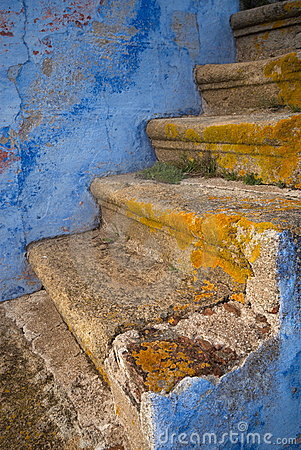 Free Old Stairs Stock Image - 7884671