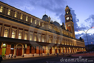 Old Station in Sao Paulo, Brazil