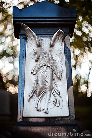 Free Old Statue Of Angel Stock Photos - 53512513