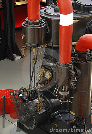 Free Old Steam Engine Royalty Free Stock Image - 7729786