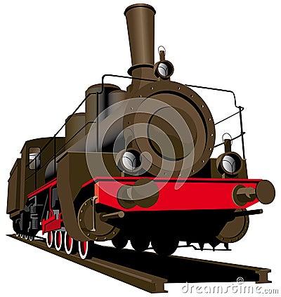 Free Old Steam Locomotive Stock Photo - 12085530