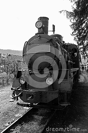 Free Old Steam Locomotive Stock Photo - 30436600