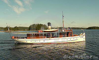 Old steamboat