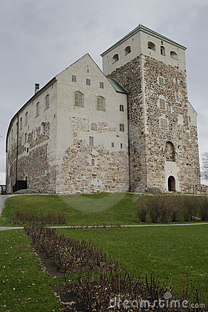 Old stone castle in Turku