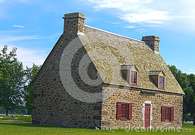 Old stone house Montreal