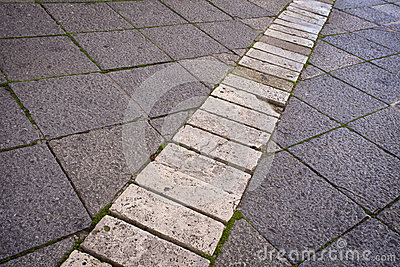 Old Stone Paving