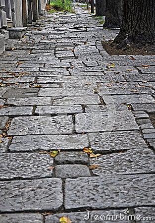 Old stone street