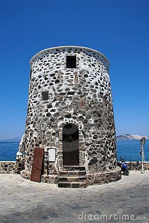 Old stone tower, Nisyros