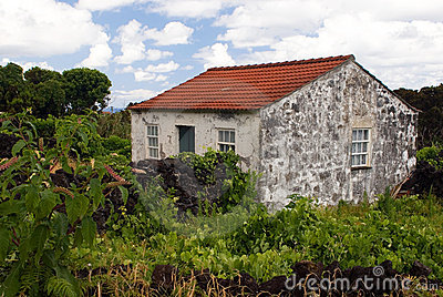 Old stoned house