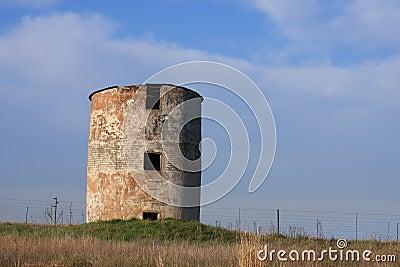 Old storage silo