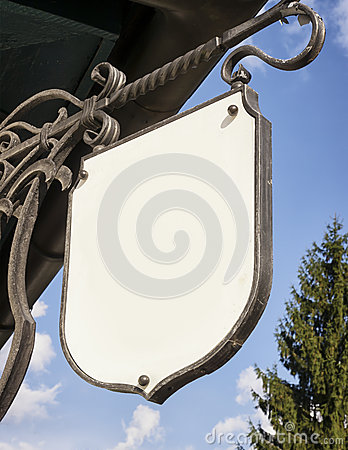 Old store sign