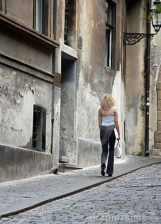 Free Old Street Stock Image - 1582121