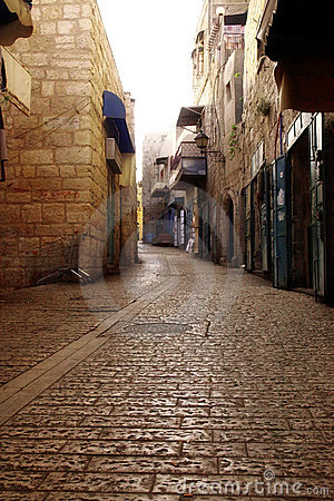 Old street in Bethlehem