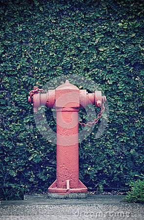 Old street fire hydrant