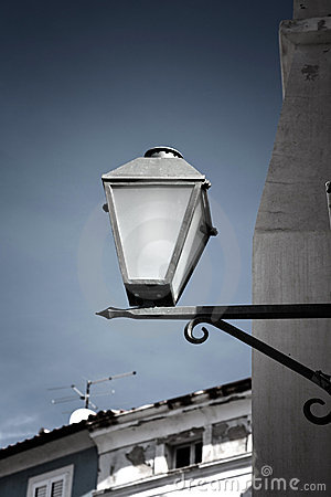 Old street-lamp