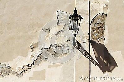 Old street lamp