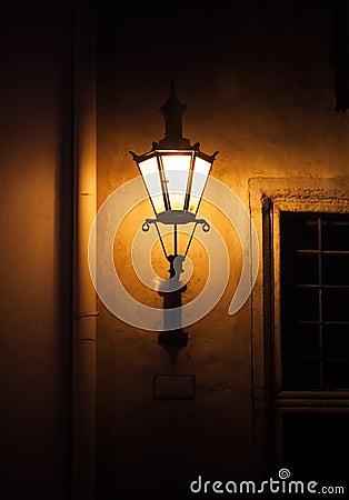 Free Old Street Lamp Light In Tallinn, Estonia Stock Photography - 31324082