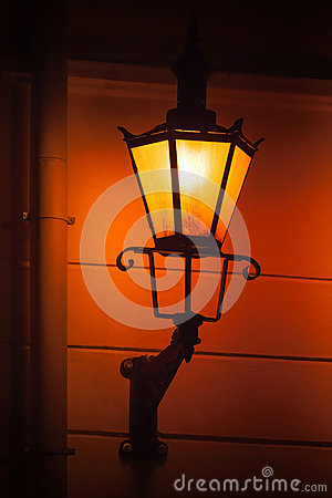 Free Old Street Lamp Light. Tallinn, Estonia Royalty Free Stock Photo - 31306945