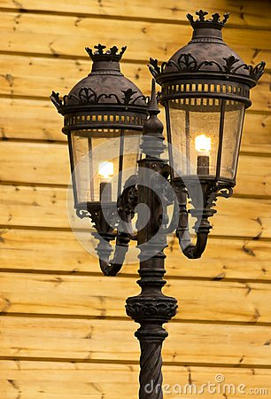 Free Old Street Light Stock Images - 38313954