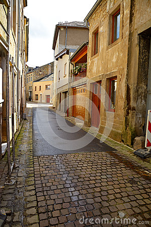 Old street in Luxembourg