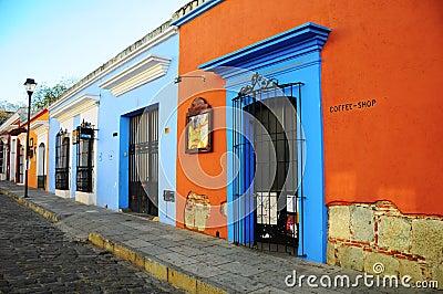 Old Street in Oaxaca