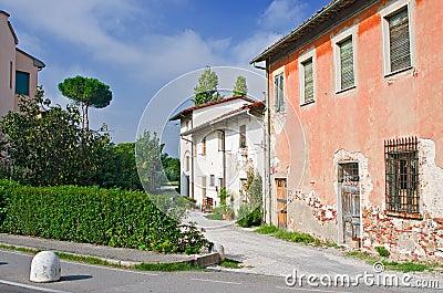 Old street in Pisa