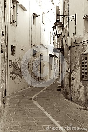 Old street of Rethymnon