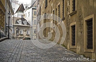 Old street in Vienna