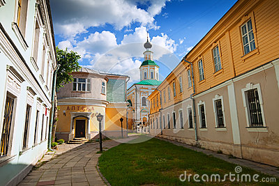 Old street at Vladimir