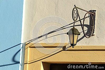 Old streetlamp