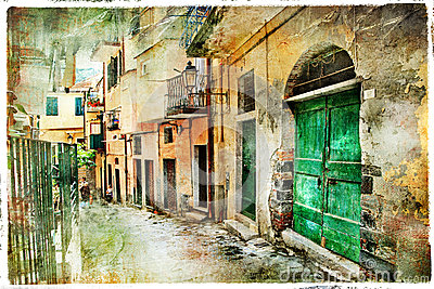 Old streets of Italy