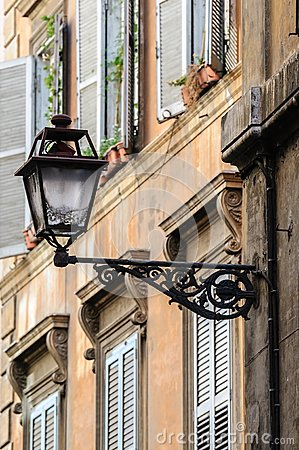 Free Old Streets Of Rome, Italy Royalty Free Stock Photo - 43884245