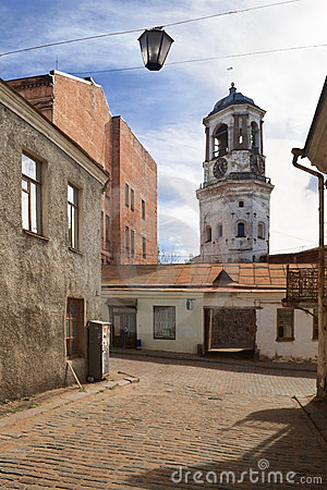 Free Old Streets Of Vyborg Royalty Free Stock Photo - 1667375