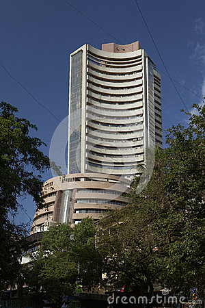 Free Old Structure Of Share Market Bombay Stock Exchange Building, M Stock Photography - 40915362