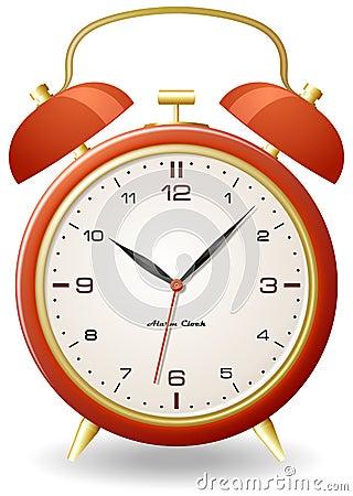 Old style alarm clock