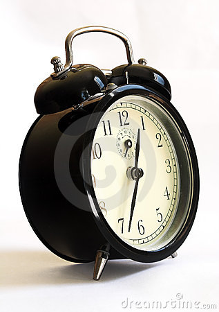 Old style alarm clock