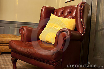 Old style armchair