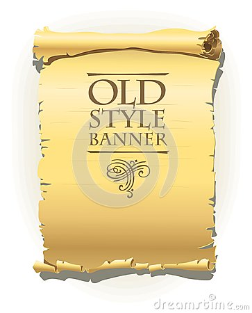 Old style banner