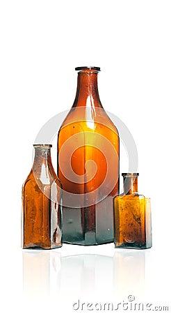 Old style bottles